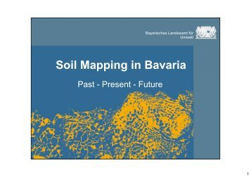 Soil Mapping in Bavaria