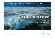Die Energiebilanz der Erde - Climate Change 2013: The Physical ...
