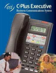 ESI C-Plus Executive brochure - Advanced Micro Technologies
