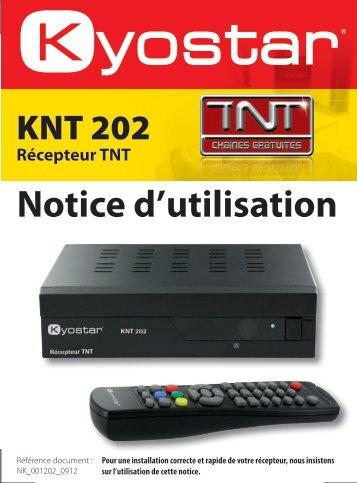 Notice d'utilisation - Kyostar