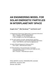 an engineering model for solar energetic particles in interplanetary ...