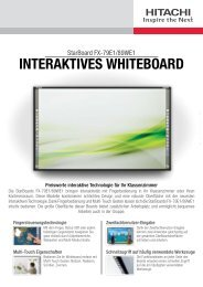 INTERAKTIVES WHITEBOARD - ALSO