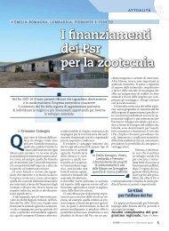I finanziamenti dei Psr per la zootecnia - L'Informatore Agrario