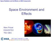Space Radiation and its Effects on EEE Components