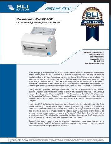Summer 2010 Pick Awards - Panasonic