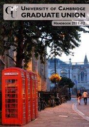The Graduate Union - University of Cambridge