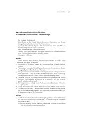 II. Kyoto Protocol to the United Nations Framework Convention on ...