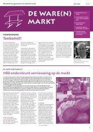 DE WARE(N) MARKT - Hoofdbedrijfschap Detailhandel