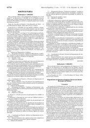 Regulamento da Estrutura Orgânica Flexível da Câmara Municipal ...