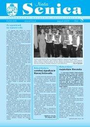 číslo august 2005 Blahoželáme majsterkám ... - Mesto Senica