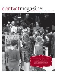 Contact Magazine – November 2011 - Christ Church Cathedral ...