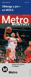 month Metro Get 2 For 1 At MOCA