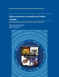 Software Assurance in Acquisition and Contract Language