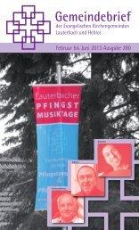 Gemeindebrief - ev-kirche-lauterbach.de www.lauterbacher-kantorei ...