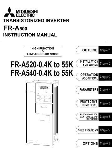 download the mitsubishi s500 vfd instruction manual mro stop rh yumpu com mitsubishi a500 manual mitsubishi a500 manual