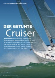 geht's zum Download (PDF, 7 Seiten, 680 KB) - Bavaria Yachtbau