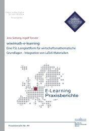 Praxisbericht 49 - ERCIS - European Research Center for ...