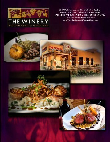 2647 Park Avenue (at The District in Tustin) - Your Restaurant ...