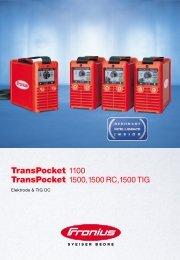 TransPocket 1100 - Fronius