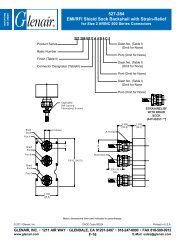 527-284 EMI/RFI Shield Sock Backshell with Strain ... - Glenair, Inc.