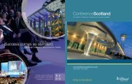Conference Guide 2008 - Scottish Convention Bureau