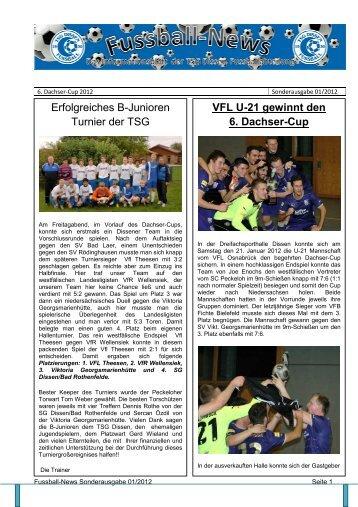 Sonderausgabe 1 - Fussballabteilung TSG Dissen