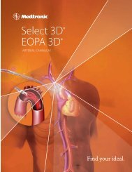 Eopa 3D® artErial CannulaE - Find your ideal - Medtronic
