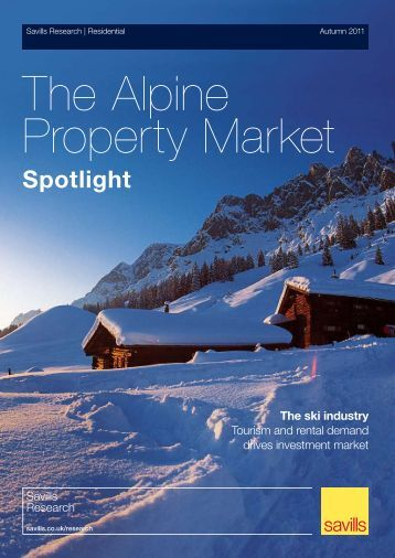 Property Market - Ski chalets for sale