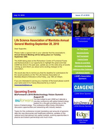 LSAM Issue 27 of 2010 (July 12 2010)
