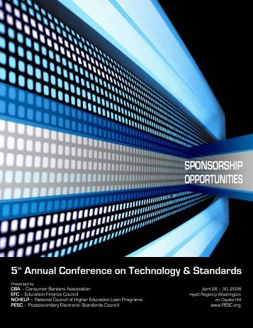 5th Annual Conference on Technology & Standards - PESC