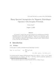 Sharp Spectral Asymptotics for Magnetic Schrödinger Operator with ...