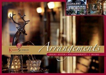 Arrangements - Hotel  Knippschild