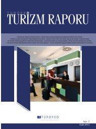 Sayı: 5 Eylül 2012 - Türkiye Otelciler Federasyonu