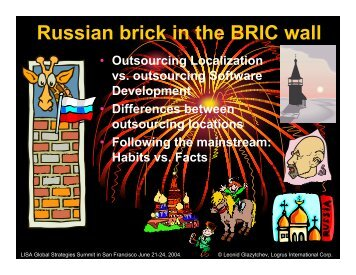 Russian brick in the BRIC wall