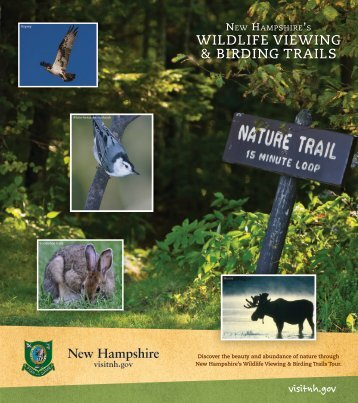 WILDLIFE VIEWING & BIRDING TRAILS - New Hampshire