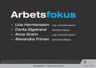 Arbetsfokus i Örgryte-Härlanda