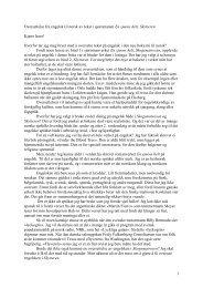 Jon Michelets norske oversettelse av engelske ord, uttrykk og ...
