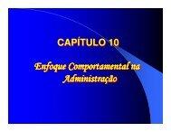 Enfoque Comportamental na Administra Administração Enfoque ...
