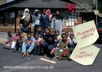 Ethical Property foundation PAS leaflet - East London CVS Network