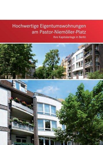 Hochwertige Eigentumswohnungen am Pastor-Niemöller-Platz