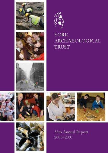 2006-7 - York Archaeological Trust