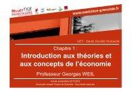 Introduction aux théories et aux concepts de l'économie - Université ...