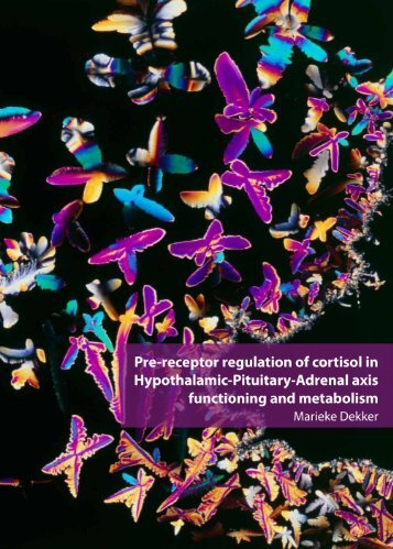 Pre-receptor regulation of cortisol in Hypothalamic-Pituitary-Adrenal ...