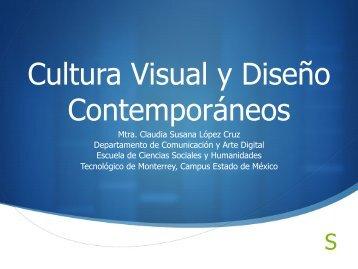 Cultura Visual y Diseño Contemporáneos - Tecnológico de Monterrey