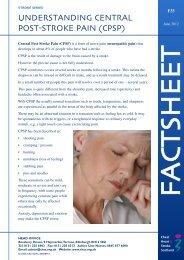 Understanding Central Post Stroke Pain (CPSP) - Chest Heart ...