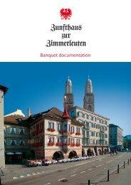 Banquet documentation - Eventlokale.com