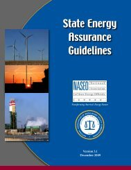 State Energy Assurance Guidelines - National Association of State ...