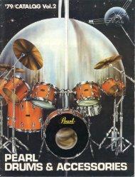 Pearl 1979 Japan - drumarchive.com