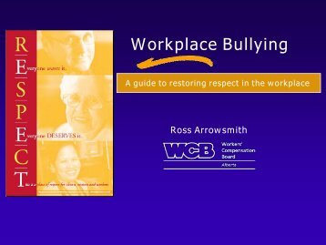 A Guide to Restoring Respect in the Workplace - Western Cities ...