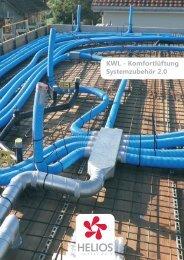 Komfortlüftung Systemzubehör 2.0 - Helios Ventilatoren AG